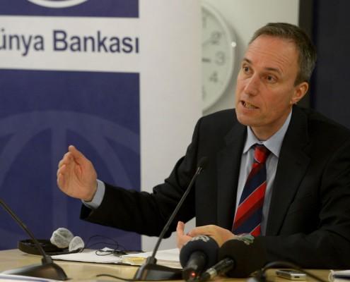 Dünya Bankası Direktörü Martin Raiser