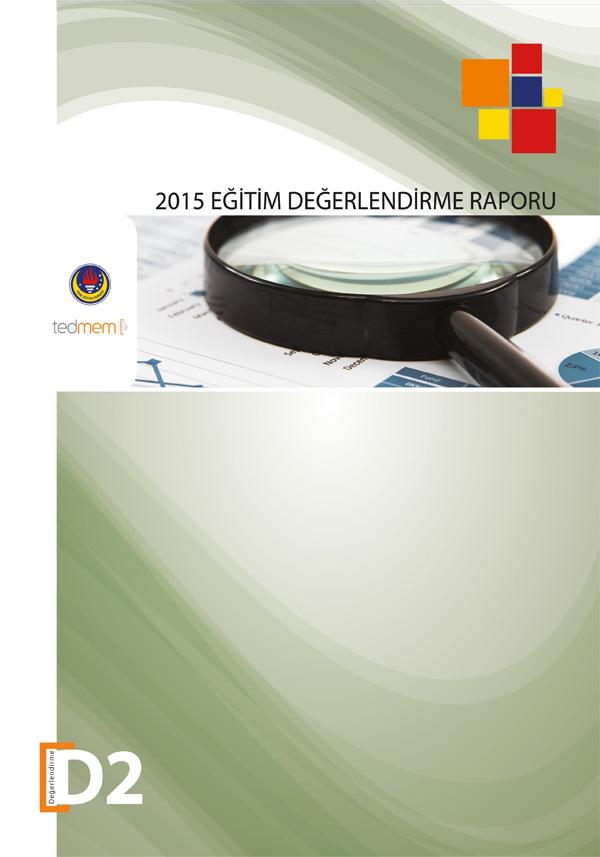 2015 Eğitim Değerlendirme Raporu