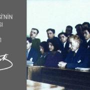 1. Maarif Kongresi'nin Açış Konuşması